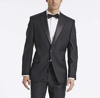 Calvin Klein 男式时尚修身款100% 羊毛燕尾服夹克
