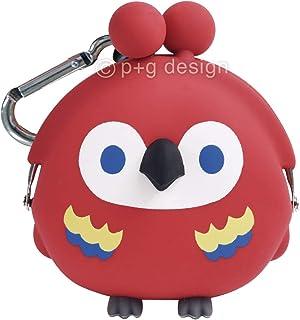 ピージーデザイン(p+g design) 装飾雑貨(ファッション小物) オウムレッド 本体サイズ:W8.3×H9.3×D5.7cm PG-30701