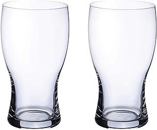 Villeroy & Boch Purismo 啤酒品脱,2 件套,650 毫升,水晶玻璃,透明