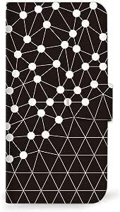 MITAS 智能手机保护壳翻盖型圆点几何简约  D 18_HUAWEI (nova)