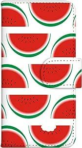 智能手机壳 手册式 对应全部机型 印刷手册 wn-372top 套 手册 水果 UV印刷 壳WN-PR061414-MX AQUOS Xx2 502SH B款