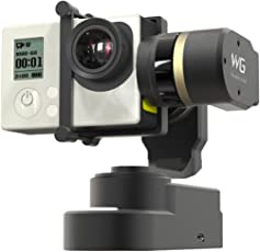 Feiyu Tech 飞宇科技 WG 手持穿戴云台陀螺仪稳定器 适用GoPro hero4运动相机 (黑色)