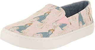 TOMS 女式10009295黑色钩针闪光 alpargata 显示器 Pnk Slep Bty Pt Cnvs 13.5 M US Little Kid