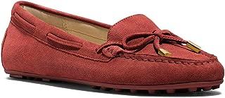 Michael Kors 迈克高仕 Daisy Moc Red Brick 11M 绒面皮平底鞋