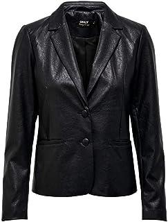ONLY 女士 Onlalma 人造皮革 OTW 外套