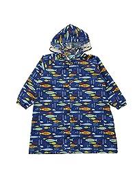 KUKAKAHIPO 儿童用 洗衣服 雨衣 有假 共2种图案 3种尺寸 100 (95~105cm) 带收纳包kukka hippo 83185