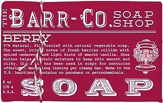 Barr Co 浆果香皂,6 盎司