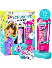 Just My Style D.I.Y.Scrunchie Maker 由 Horizon Group USA,设计您自己的彩色缎面发圈,易于使用的工具和宝石