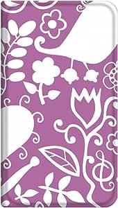 智能手机壳 手册式 对应全部机型 薄型印刷手册 cw-331top 套 手册 艺术 超薄 轻量 UV印刷 壳WN-PR006597-ML AQUOS CRYSTAL 305SH B款