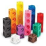 【海外购】Learning Resources Mathlink积木 教育计数玩具 100块套组(5岁+)