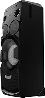 索尼 MHC-V7D 派对音响系统(Hi Fi 附件,派对音乐系统,键盘控制,3 路扬声器,适用于NFC,蓝牙,CD/DVD,FM/AM 收音机,USB,USB 录制)
