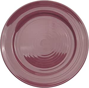 CAC China TG-8PLM Tango Plum Porcelain Plate, 9-Inch, Box of 24