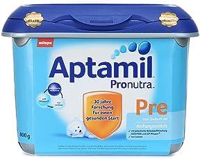 Aptamil 爱他美 新品安心罐 配方婴幼儿奶粉pre段800g(0-6个月) 包邮包税【跨境自营】