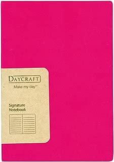 Daycraft 德格夫 旗艦系列筆記本 - A6, 桃紅色