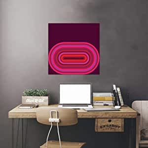 "iCanvasART Flow Hot II 印刷品 Greg Mably 30.48 厘米 x 1.91 厘米 x 30.48 厘米 26"" x 26"" GMA34"