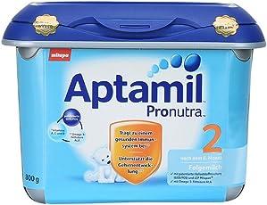 Aptamil 爱他美 新品安心罐 配方婴幼儿奶粉2段 800g(6-12个月) 包邮包税【跨境自营】