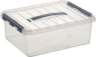 Helit H6160302 – Sunware 塑料盒适用于 A4,12 升,透明