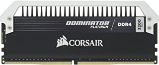 Corsair 海盗船 统治者 白金系列16GB(2×8GB)DDR4 DRAM 3200MHz(PC4-25600)C16内存套件(CMD16GX4M2B3200C16)