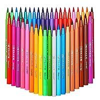 FINECOLOUR 水彩笔套装成人和儿童染色,剪贴画,礼品卡制作艺术绘图记号笔 12 种颜色