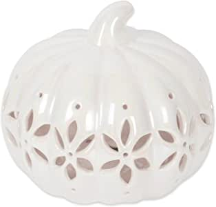 DII 万圣节和秋季 Halloween Battery Lantern - Pumpkin Flowers Short CAMZ38028