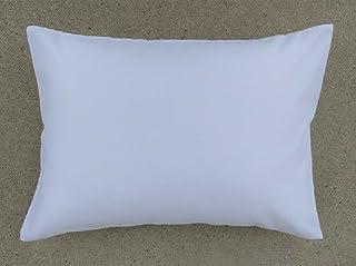 Ella & Max 幼儿枕套。 触感柔软,造型惹人喜爱。 适合 13 X 18 & 14 X 19。 易于清洗,不熨烫。 美国纯手工制造。 由豪华超细纤维面料制成。 白色