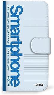 Mitas OPPO Reno A 线条1983 手机壳 手账型 笔记本 A (474) SC-0176-A/1983