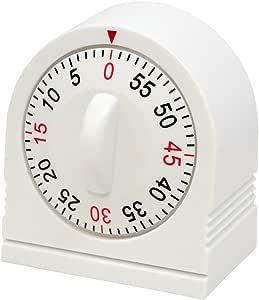 MARATHON TI030003P 机械 60 分钟发条计时器 白色 unknown
