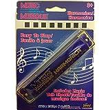 Music Makers 口琴皇家蓝 - 包括音乐标签板
