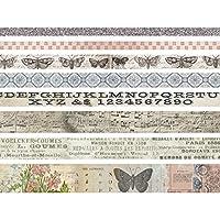 Idea-0logy Design Tape 8/Pkg-Butterfly