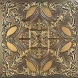 从普通到美丽的时光 218ag-24x24-25 金色Prague 天花板瓷砖古董金色 25
