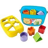 Fisher-Price FFC84 宝宝*个积木,婴儿形状分类玩具,适合6个月以上的宝宝