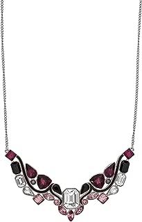 施华洛世奇 Impulse 5152835 多色水晶镀铑围嘴项链