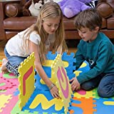 MOTA ABC字母表地面玩垫 适合2岁及以上儿童(拼图块垫)