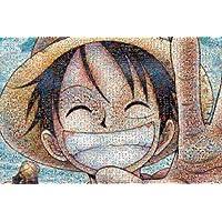 日本ENSKY拼图海贼王马赛克拼图路飞笑脸1000片