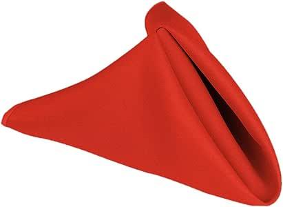 50.80 cm 棉触感餐巾(1 打) 红色 20NPK-040135