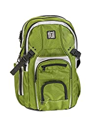 "ful TMan 17"" Laptop Backpack 橄榄色 19 英寸"