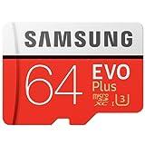 SAMSUNG 三星 高速内存卡64GB Class10 TF(Micro SD卡) 存储卡(读速100Mb/s) 升级版+