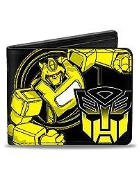 buckle-down 钱包蜜蜂造型 / Autobot 标志黑色黄色配件