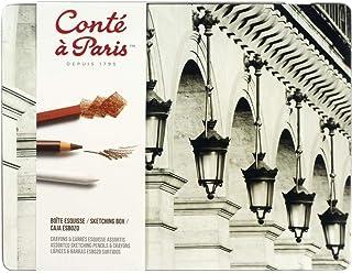 Conté à Paris 2185 素描笔 画笔 多色 18.5 × 24.5 × 1.3 厘米 多色 Set 2185