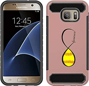 Galaxy S7 保修和延长保修 Rose Gold - Softball Forever