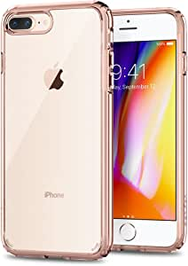 Spigen Ultra Hybrid [2nd Generation] iPhone 8 Plus Case/iPhone 7 Plus Case with Clear Protection and Air Cushion Technology for iPhone 8 Plus (2017) / iPhone 7 Plus (2016) rose *
