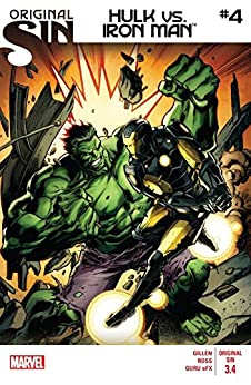 """Original Sin: Hulk vs. Iron Man #4 (English Edition)"",作者:[Waid, Mark, Gillen, Kieron]"