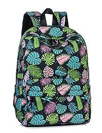LEAPER 可爱加厚帆布书包笔记本电脑包单肩背包手提包
