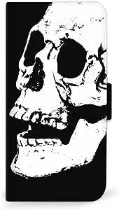 MITAS 手机壳翻盖式 Skull 骷髅头骷髅头  C 36_ZenFone4 (ZE554KL)