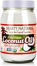 Hearty Naturals 海蒂娜柔 特级初榨椰子油414ml(斯里兰卡进口)