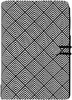 filofax 斐来仕 英国 Impressions A6 黑白纹 028708 活页记事本 时间管理手帐 手册 日程本 简约时尚