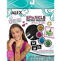 Alex Toys - 趣味水浴,闪光纹身 - 和平和爱 799P