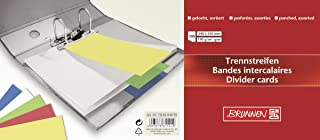 Brunnen 分页纸条 10.5 x 24 厘米 按颜色分类 分类