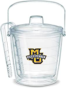 Tervis 1053429 Marquette University Emblem Individually Boxed Ice Bucket, 87 oz, Clear