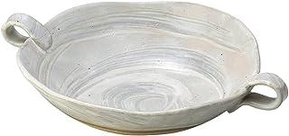 山下工艺 美浓烧 泉工艺白花盆 6.5×30×22.5cm 13045940
